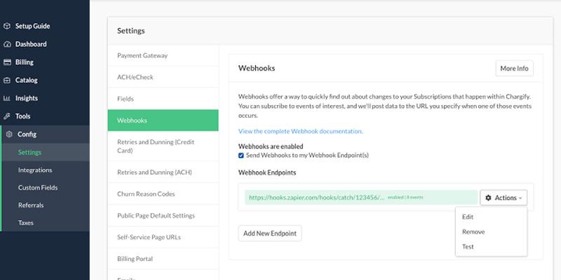 Webhooks - Shopify notification push mechanism