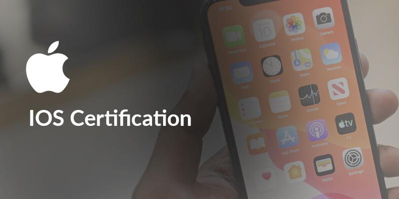 IOS Certification - App Development For Creative Entrepreneurs