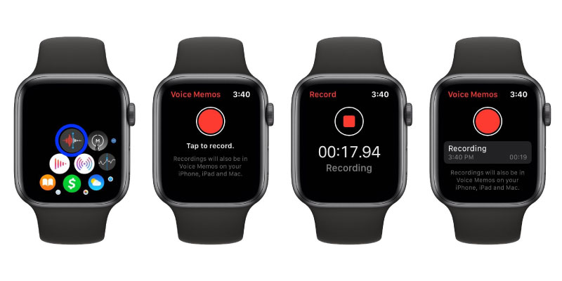 Ever-Note and Voice Memos Apps